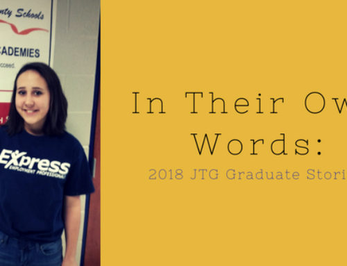 In Their Own Words: Marissa Tanner, 2018 JTG Graduate